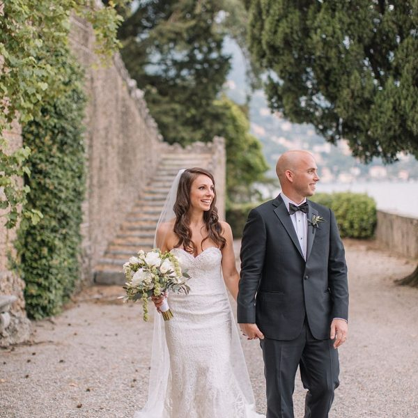 Lake Como Wedding - Villa Pizzo