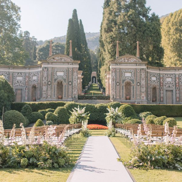 Lake Como Wedding | Villa d'Este