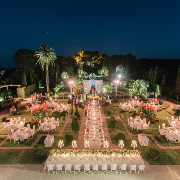 French Riviera Wedding | Villa Ephrussi de Rothschild