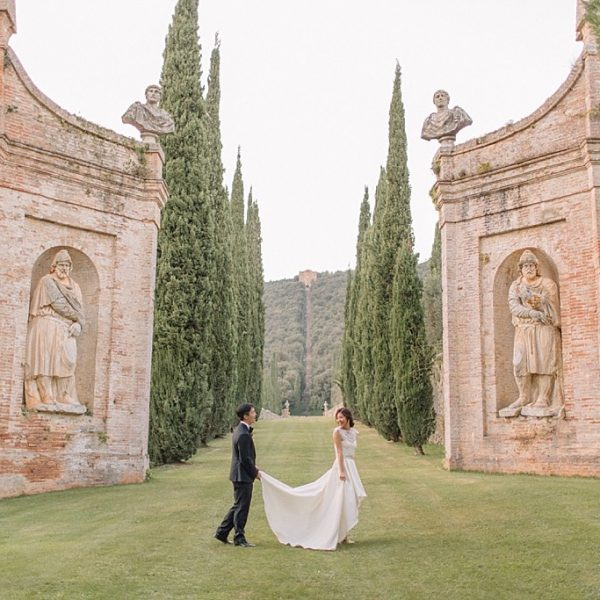 Tuscan Wedding | Villa Cetinale