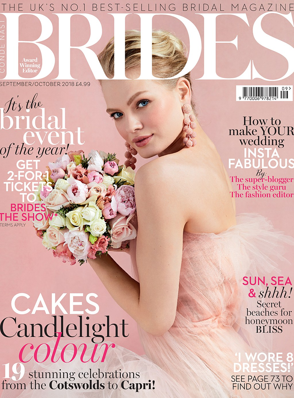 Brides Magazine London Wedding Feature