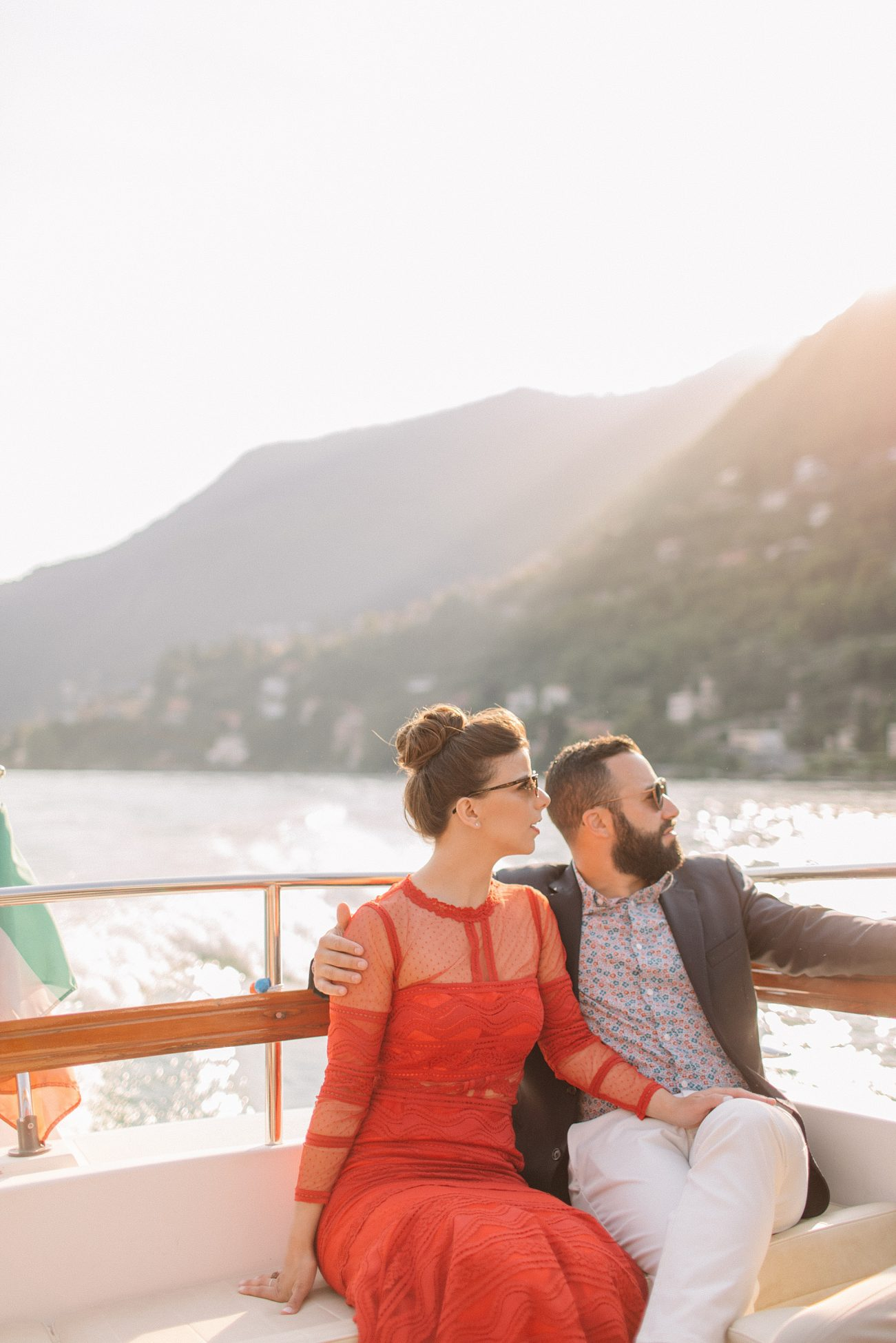 Lake Como Welcome Party - Holly Clark Photography