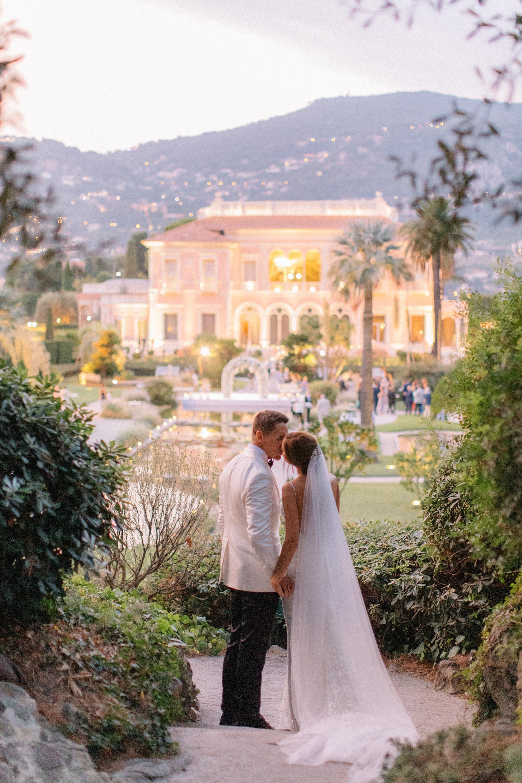 Villa Ephrussi de Rothschild Wedding - Holly Clark Photography
