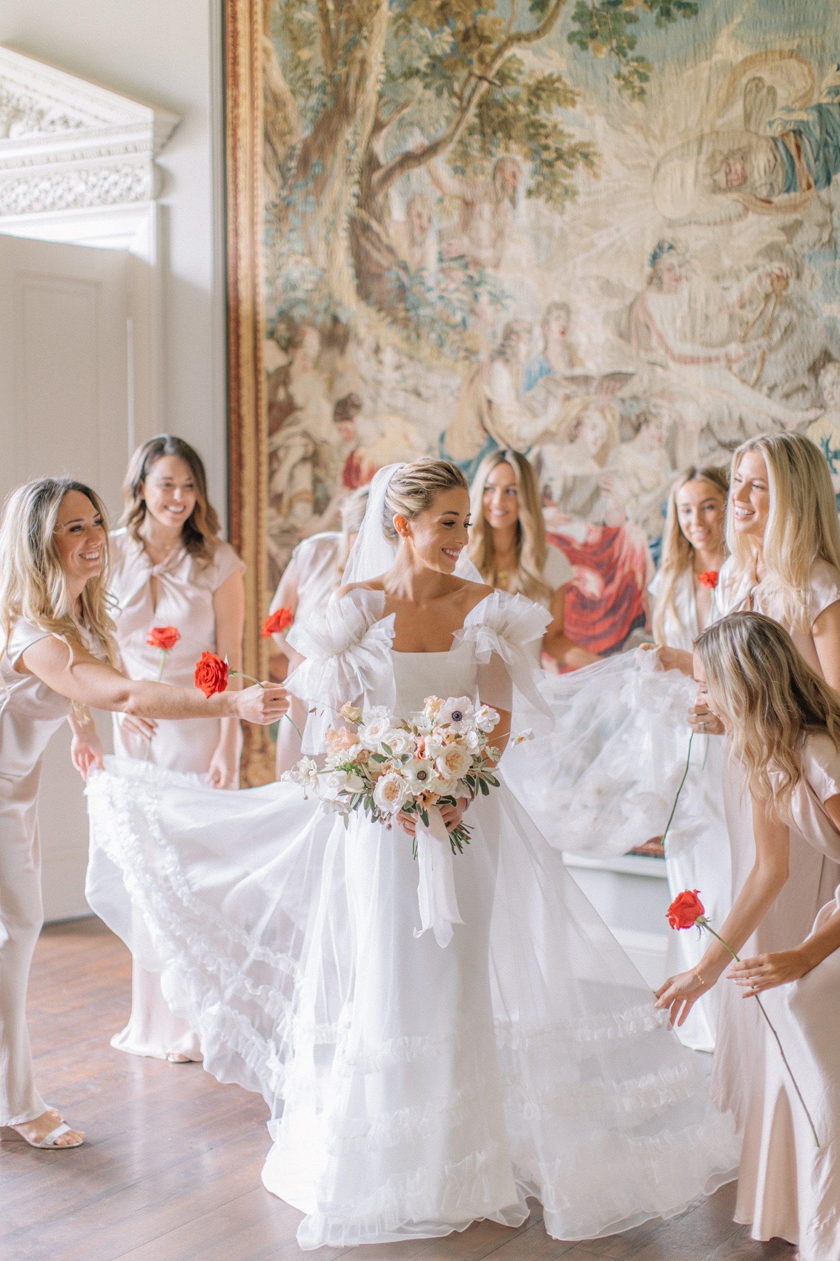 St Giles House Wedding - bridal Portraits