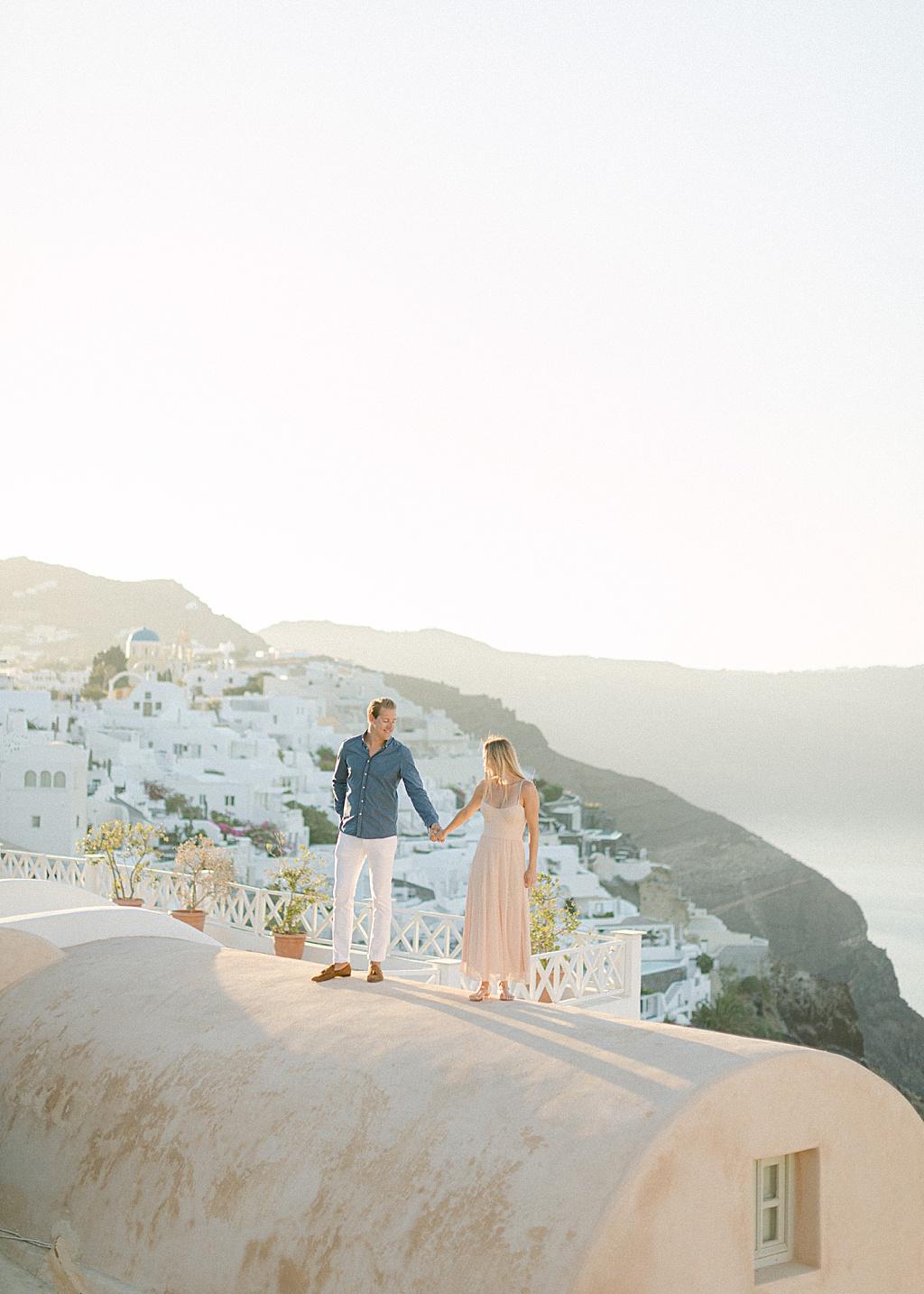 Santorini Couple Sunrise Session - Oia